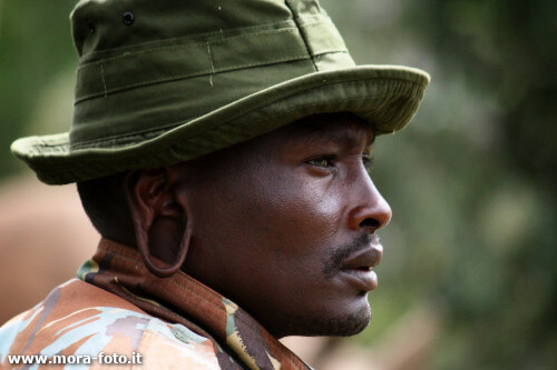 Masai Ranger photographed unknowingly