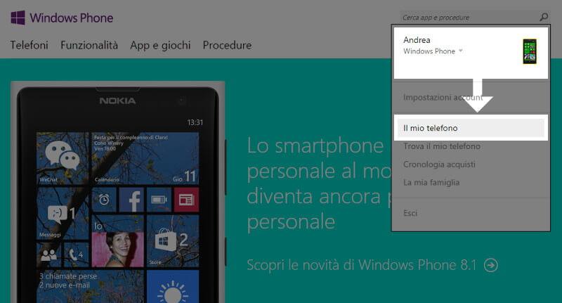 app localizzazione cellulare windows phone
