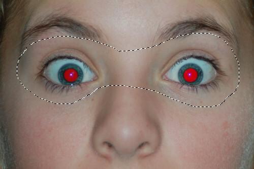 Select eye contour.