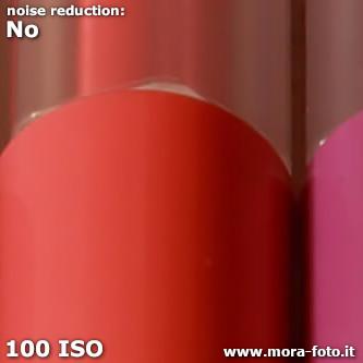 Sample file at 100 ISO