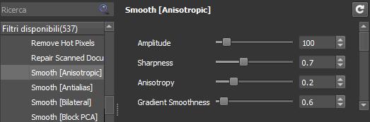 anisotropic settings